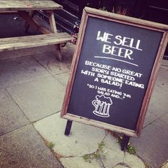 This sign might speak the truth… | 33 Brilliantly Blunt Pub Signs That Will Make You Want A Drink