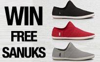 Win a Free Pair of Sanuks