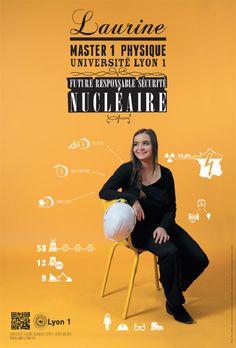 """""""Votre métier"""" : la nouvelle campagne universitaire de Lyon I"""