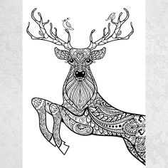 The Classic Christmas Coloring Page - One Horse open ...