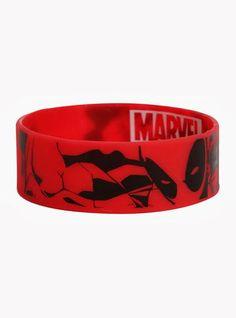 Best Bracelet 2017/ 2018 : Deadpool Rubber Bracelet