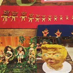 「クレイアニメーション界のレジェンド、ブルース・ビックフォードがアニメーションフェス「GEORAMA」のために来日中! 原宿VACANTでのアトリエ再現&公開制作イベントは本日18時まで。粘土の人形がトランスフォームを繰り返す超絶技巧アニメーション制作の裏側が垣間見れます。 #georama2016」