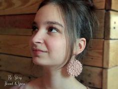 PATTERN Rosegold Crochet Jewelry Thread Crochet Necklace   Etsy Crochet Hook Sizes, Thread Crochet, Crochet Yarn, Crochet Hooks, Crochet Necklace Pattern, Thread Jewellery, Jewelry, Ladylike Style, Crochet Instructions