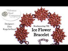 """Make an """" Ice Flower Bracelet """" - YouTube"""