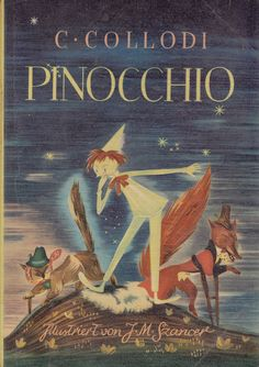 Pinocchio by Carlo Collodi, illustrated by Jan Marcin Szancer Pinocchio, Good Books, My Books, Fairy Tales For Kids, The Book Thief, Berlin, Beautiful Book Covers, Books For Teens, Inspirational Books