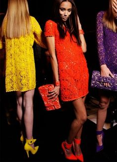 colourful lace