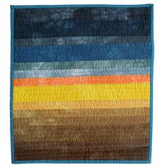 Landscape-Ombre-No measuring-Quilt. Inspiration for the future.