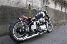 kawasaki W650 bobber custom