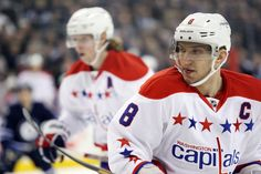 Washington Capitals  forward  Alex Ovechkin. (Bruce Fedyck, USA TODAY Sports)