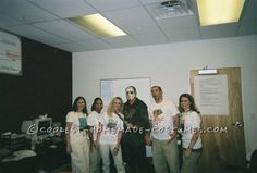 Camp Crystal Lake Counselors and Jason Voorhees Group Costume... This website is the Pinterest of costumes