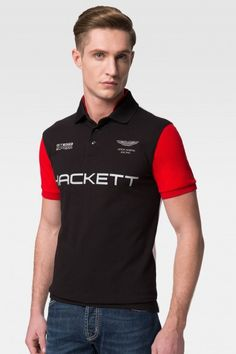 Hackett Aston Martin Racing Multi Polo Shirt - Polo Shirts - Shop By  Product - Men 519f993d3f8f