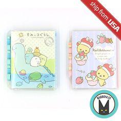 Lot 2pcs Japan San-X Sumikko Gurashi Rilakkuma Eraser Sticky Notes Memo Pad Cute | Collectibles, Animation Art & Characters, Japanese, Anime | eBay!