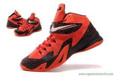 "Vermelho/Preto/Branco ""PREMIUM PLAYER PACK"" 653642-002 Nike Zoom Soldier 8 Masculino"