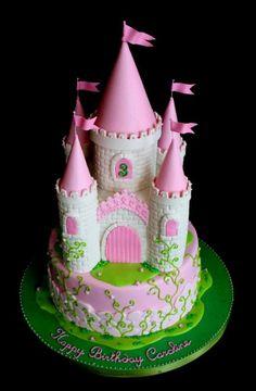 Princess Castle Cake | Very Unique Cakes by Veronique
