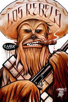 Chewie is cool. Mexican Chewie is very cool!