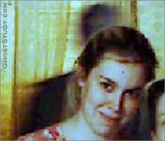"""SHADOW MAN! This photo was taken on a digital (evision 123) camera. we have been experiencing phenomena in our house for some time. People getting their hair tugged. or being touched etc. It has been seen in glimpses from time to time. This photo was taken in my kitchen. It was taken in early 2007. Submitted by: D. Schlaeger GS.com comment: """"The shadow guy looks convincing even though we can't rule out motion blur""""."""