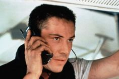 1994 Keanu Reeves as The Officer Jack Traven in Speed