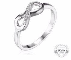 Infinity love rings . perfect love symbol