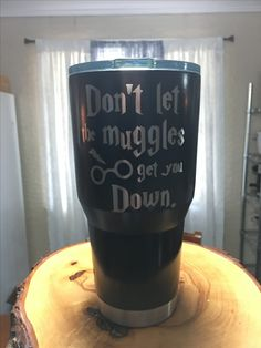 Harry Potter themed custom tumbler.