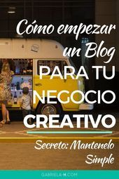Blogging Fuerte | Consejos de Blog para Emprendedoras Creativas