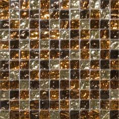 "Emser Tile & Natural Stone: Ceramic and Porcelain Tiles, Mosaics, Glass Tiles, Natural Stone: Vista, Caldo Blend 1""x1"" Mosaic On 12""x12"" Mes..."