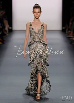Photo - Jenny Packham - Spring/Summer 2017 Ready-to-Wear - new york - Fashion Show | Brands | The FMD #lovefmd