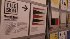 """Tile Skin fra le superfici tecnologica ente avanzate prescelte per partecipare a Material Connexion Italia, """"biblioteca dei materiali per l'architettura del futuro"""".  Imperdibile per l'aggiornamento degli architetti.  La trovate a #SuperstudioPiù #Tortona.  #MCaroundSaloni #iSaloni #milanoDesignWeek #mdw"""