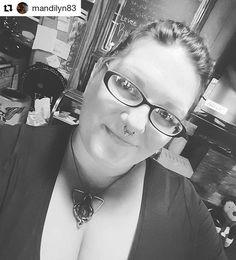 The babely @mandilyn83, sporting her new #vulvapendant !   #yoniart #pussygrabsback #goddesspendant #goddessjewelry #electroformed #feminist #divinefeminine #bodypositive #sexpositive #earthmother #bodylove #pussypower #sacredcunt #vagina #vaginapendant
