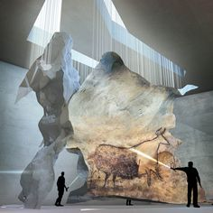 The Lascaux IV Cave Painting Centre by Snohetta and Duncan Lewis with Casson Mann