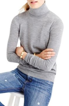 J.Crew Tippi Turtleneck Sweater available at #Nordstrom