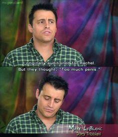 No matter how old & gray he gets, Matt LeBlanc will ALWAYS be Joey Tribbiani to me.