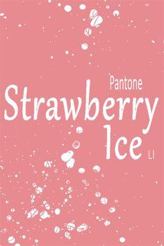 strawberry ice ღ LI
