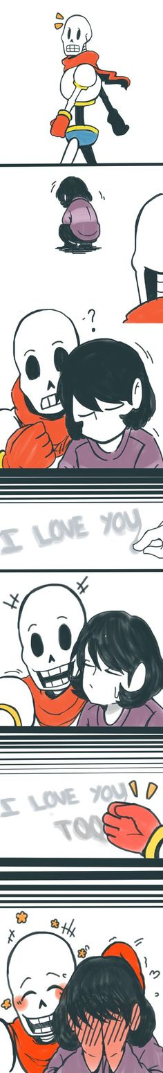 Psst, hey, let's all tag Sans/Papyrus x Frisk/Chara onto #friskyfont has a nice ring to it, right? I'm saddened at the fact that there's no pet name for the ship. I posted the separate one on tumbl...