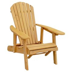 Reclining Adirondack Chair with Pull-out Ottoman | Overstock.com Shopping - The Best Deals on Chaise Lounges