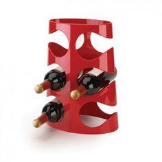 Praktyczny i nowoczesny stojak na wino Grapevine marki Umbra. Produkt został wykonany z najwyższej jakości akrylu. Stojak o opływowym kształcie pomieści 6 butelek wina. Produkt jest dostępny w 3 wersjach kolorystycznych.