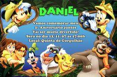 Convite digital personalizado da Disney 003