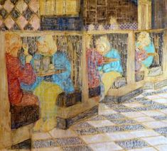Original Interiors Painting by Szabina Gore Original Art, Original Paintings, Interior Paint, Art Oil, Figurative Art, Surrealism, Buy Art, Saatchi Art, Canvas Art