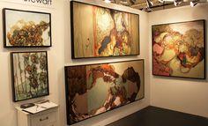 Плоды вдохновения: эклектичная живопись канадского художника. (4 фото)