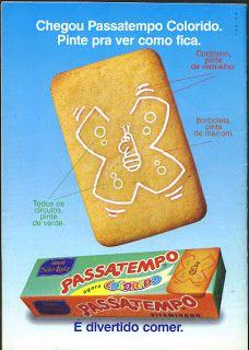 Você se lembra?: Biscoitos