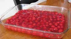 Carrie's Cooking and Recipes: Cherry Dump Cake