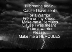 Hercules, Sara Bareilles music lightning blessed unrest brave enough Sara Bareilles, Soundtrack To My Life, Hercules, Music Lyrics, Love Songs, That Way, Helping People, Inspire Me, Growing Up