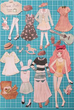Paper Doll - all items | Flickr - Photo Sharing! * Google for Pinterest pals1500 free paper dolls at Arielle Gabriels The International Paper Doll Society also Google free paper dolls at The China Adventures of Arielle Gabriel *
