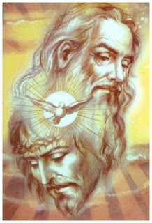 He chooses to use a feminine pronoun for God. God is tender,. Cross Pictures, Jesus Pictures, Jesus Christ Images, Jesus Art, Father Son Holy Spirit, Bride Of Christ, Jesus Is Lord, Blessed Mother, Christian Art
