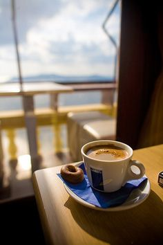 Greek Coffee in Fira. Santorini