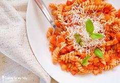 Et voil jai faim ! Flavio, Ricotta, Love Food, Vegetarian Recipes, Menu, Pasta, Cooking, Ethnic Recipes, Baby Boy