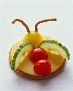 Desayunos para niños con figuras divertidas : cositasconmesh