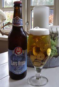 Halager: DIY - Pengegave. Et stort glas øl med skum på toppen