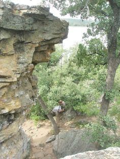 Rock Climb at Lake Mineral Wells State Park, Texas-100 Park Rd 71, Mineral Wells, TX-www.tpwd.texas.gov/state-parks/lake-mineral-wells