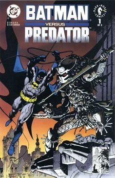 batman vs predator   Who speaks for the Who?: Batman vs. Predator