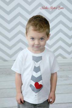 Boys Valentines Day Tshirt, Boys Valentines Tie Suspender T-Shirt, Baby  Boys Valentines Day  Onesie, Boys Shirts